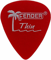 Fender  351 CALCLR PIK RED THN/12 0981351709