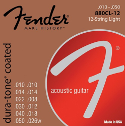 Fender  880CL12 80/20 CTD 12STR  0730880312
