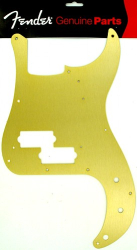 Fender '57 Precision Bass Metal Pickguard Gold Anodized 0992020000