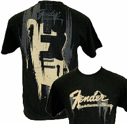 Fender  TAKING OVME TEE BLK XL 9101020606