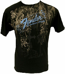 Fender  HEAVENS GATE TEE BLKXXL   9101040806