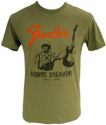 Fender DREAMERS T OLIVE, XL9110006646