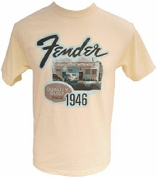 Fender FACT PHOTO T SAND, XL   9111002621