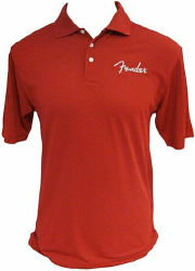 Fender SPAGHET POLO, RED, XL   9131000609