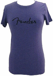 Fender LADIES SPAG T PURPL XL  9191200694
