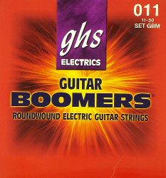 GHS Boomers Electric Guitar Strings .011 Medium 1 Set