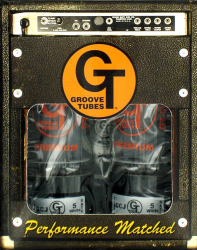 Groove Tubes GT-6L6-RD-M Amp Power Tubes Duet Medium